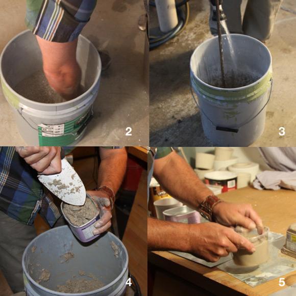 Изготовление вазонов из бетона своими руками 30