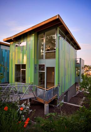 Классические правила сочетания цвета фасада и цвета крыши ...