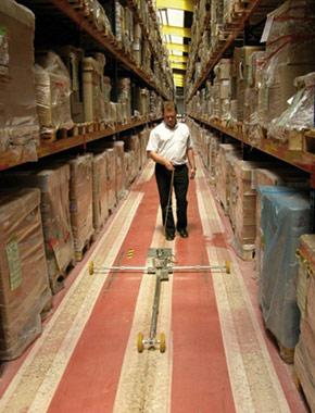 Concrete Grinding: Бетонные полы в складских помещениях
