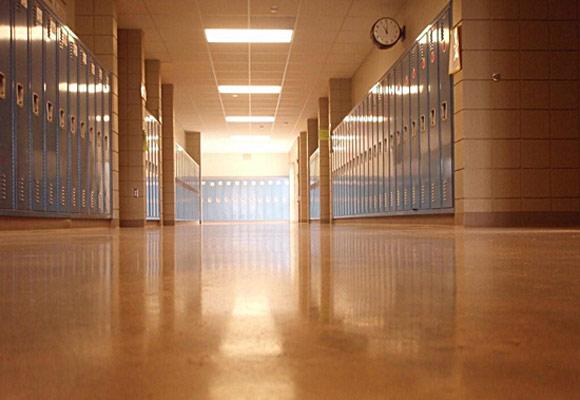 Полированные бетонные полы: Общественные и образовательные учреждения