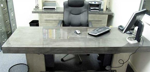 Офисная мебель из бетона