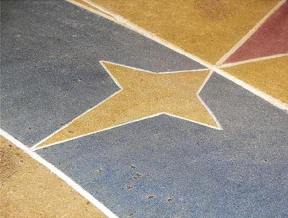 Полированный бетонный пол в образовательном центре