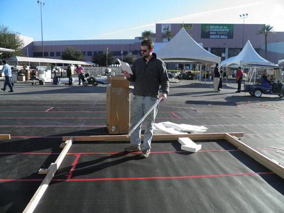 Выставка World of Concrete 2012: Мастер-класс Райана Сэмфорда