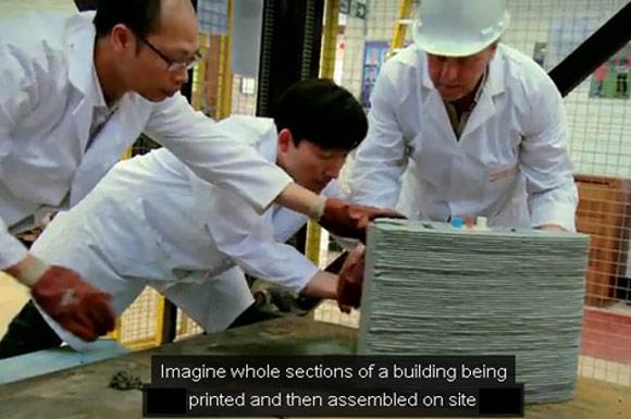 Проект 3D печати из бетона