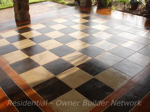Декоративный бетонный пол от компании HAAS Concrete