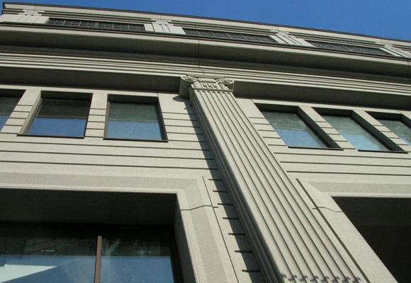 Реконструкция ЦУМа: архитектурный бетон Decomo