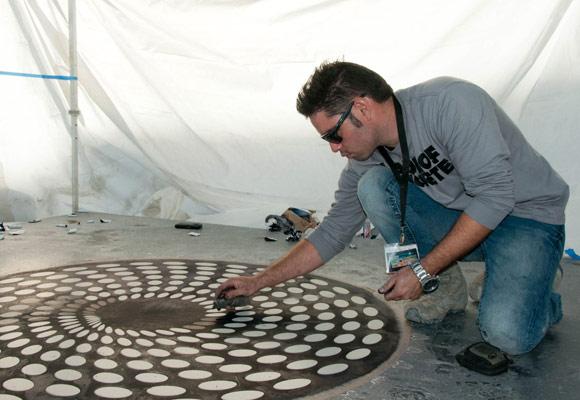 World of Concrete 2012: Мастер-класс Карлоса Переса