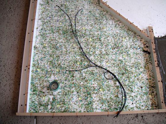 Столешница из полированного бетона своими руками