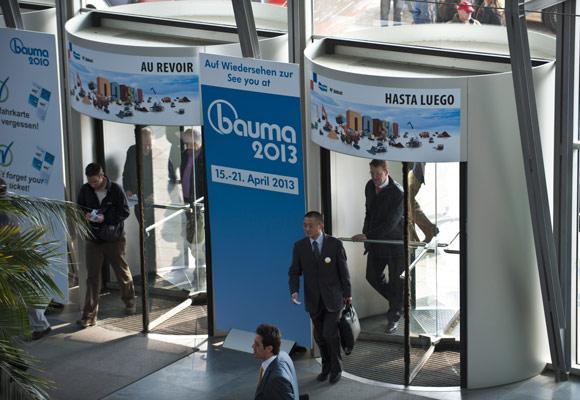 Международная строительная выставка Bauma 2013