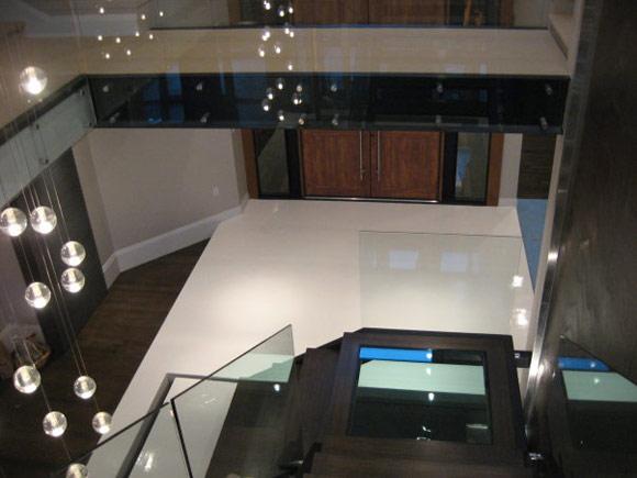 Декоративный бетон в частном доме