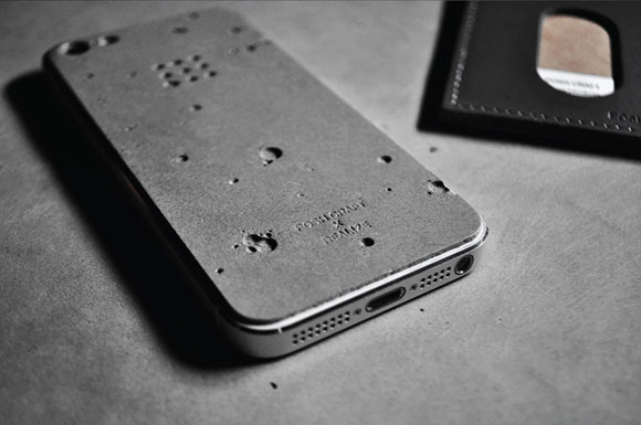 Luna: корпус из бетона для iPhone 5