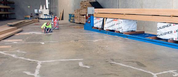 Подготовка поверхности бетонного пола