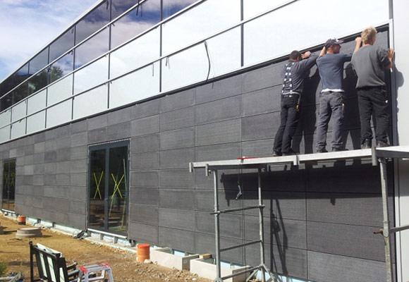 Фасады Lucem из пропускающего свет бетона