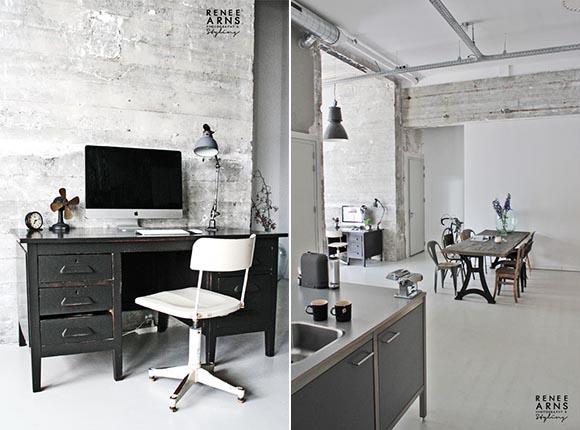 Лофт: шлифованный бетон как элемент дизайна