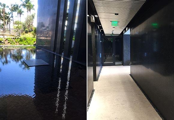 Шлифовка и полировка бетонных стен