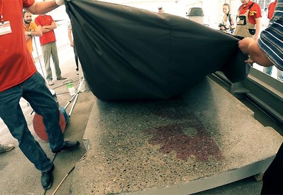 Шлифовка и полировка бетона