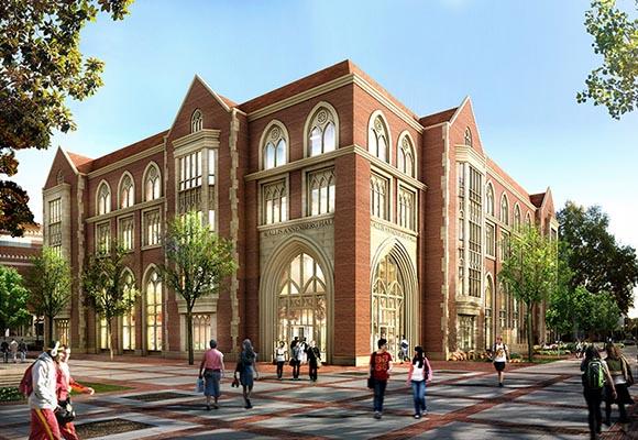 Строительство кампуса Высшей школы массовых коммуникаций и журналистики в Калифорнии
