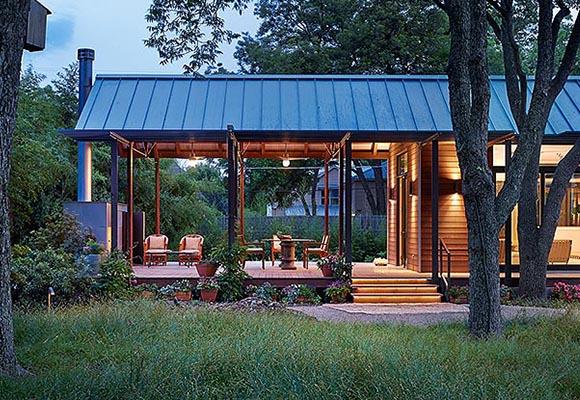 Быстровозводимые каркасные дома Porch House