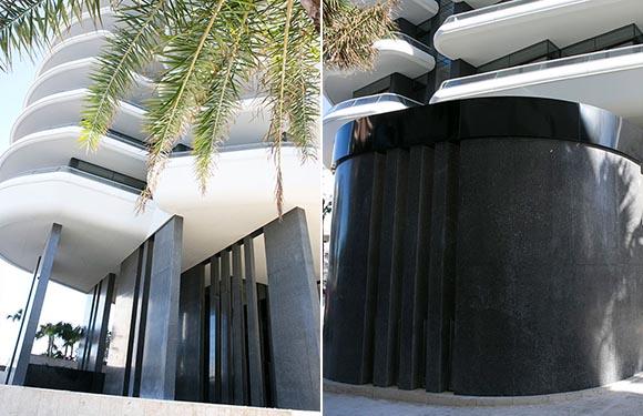 Вертикальная полировка бетона