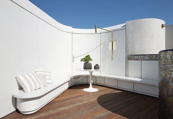 Панели из армированного стекловолокном полированного бетона